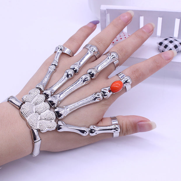Skeleton Bracelet & Rings