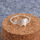Elephant Adjustable Ring