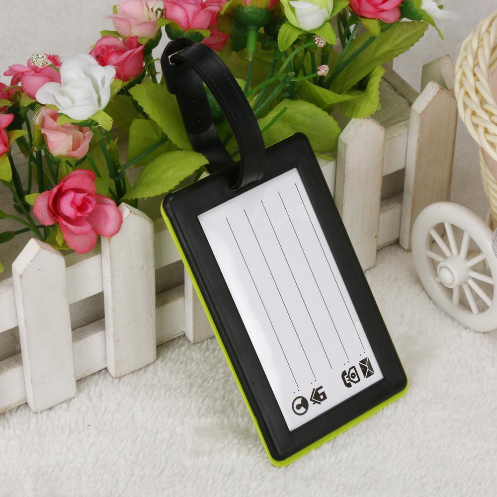 Plastic Luggage Tags