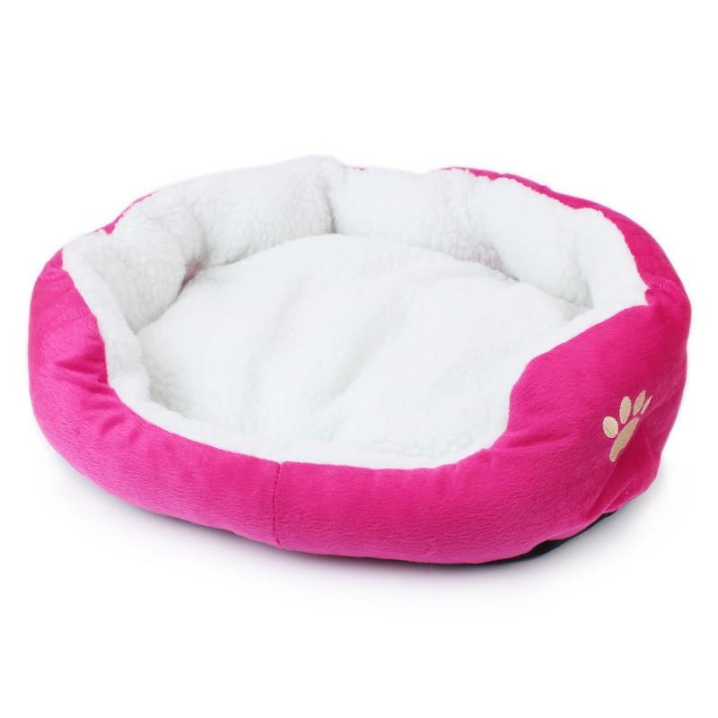 Paw Print Dog Bed