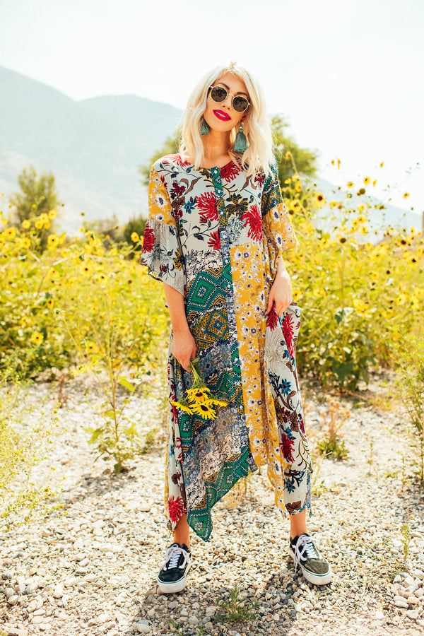 La Jolla Boho Dress