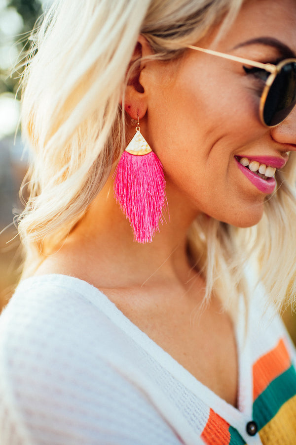 Hollywood Hills Fringe Earrings