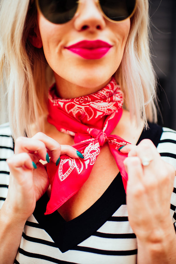 Red Hot Neck Scarf