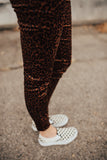 Leopard High-Waisted Skinnies