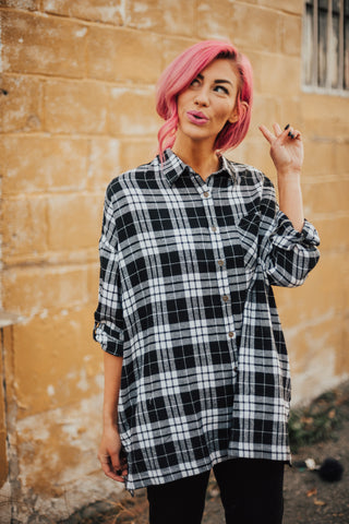 Brighton Oversized Flannel