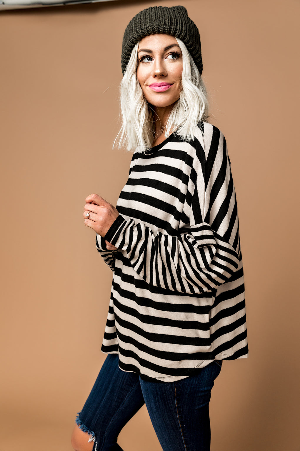Blackbird Striped Pullover