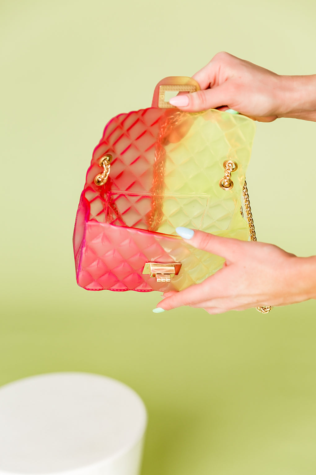 L.A. Girl Jelly Bag