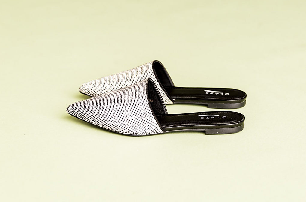 Original Disco Mules in Black