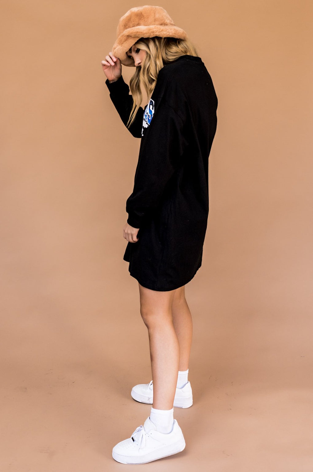 LA Vibes Oversized T-Shirt Dress