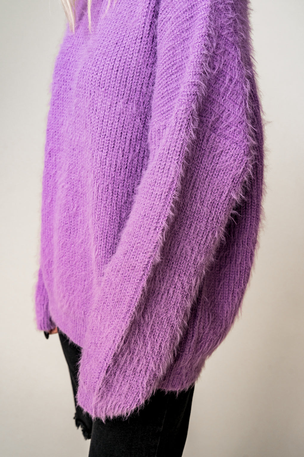 Soulmate Oversized Fuzzy Sweater
