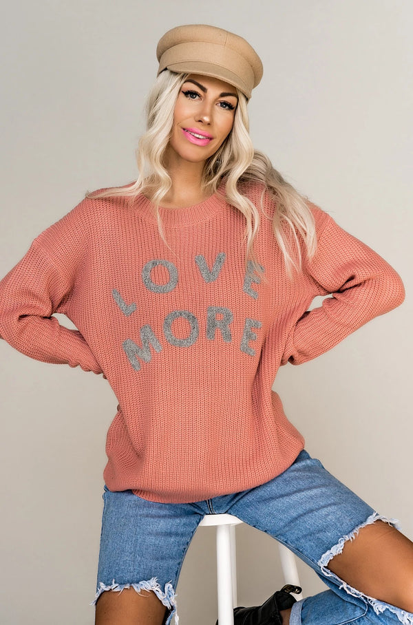 Love More Knit Sweater