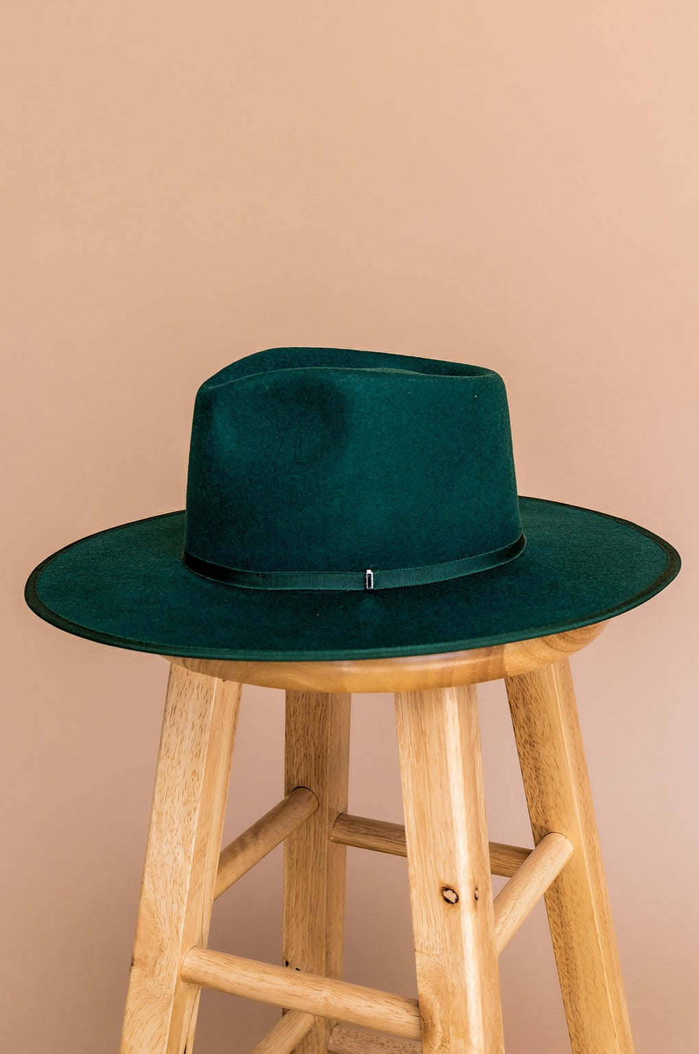 Billie Rancher Hat in Emerald Green