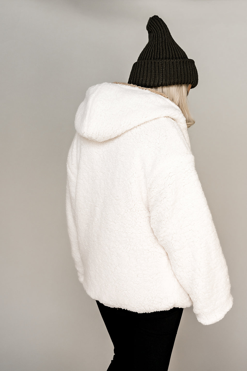 Arctic Fox Reversible Sherpa