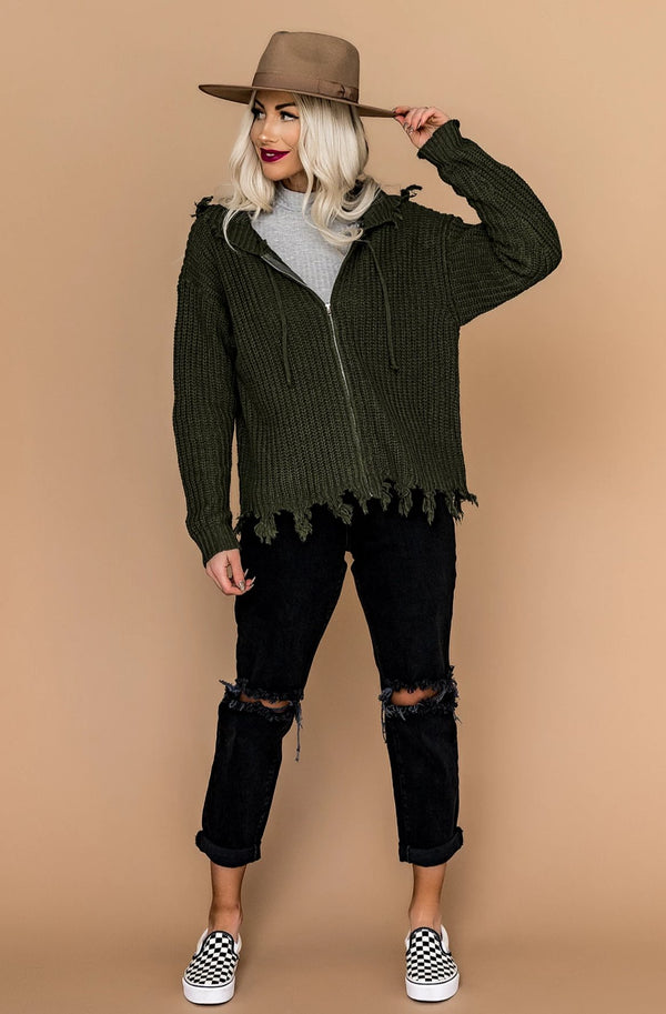 Day Tripper Zip Knit
