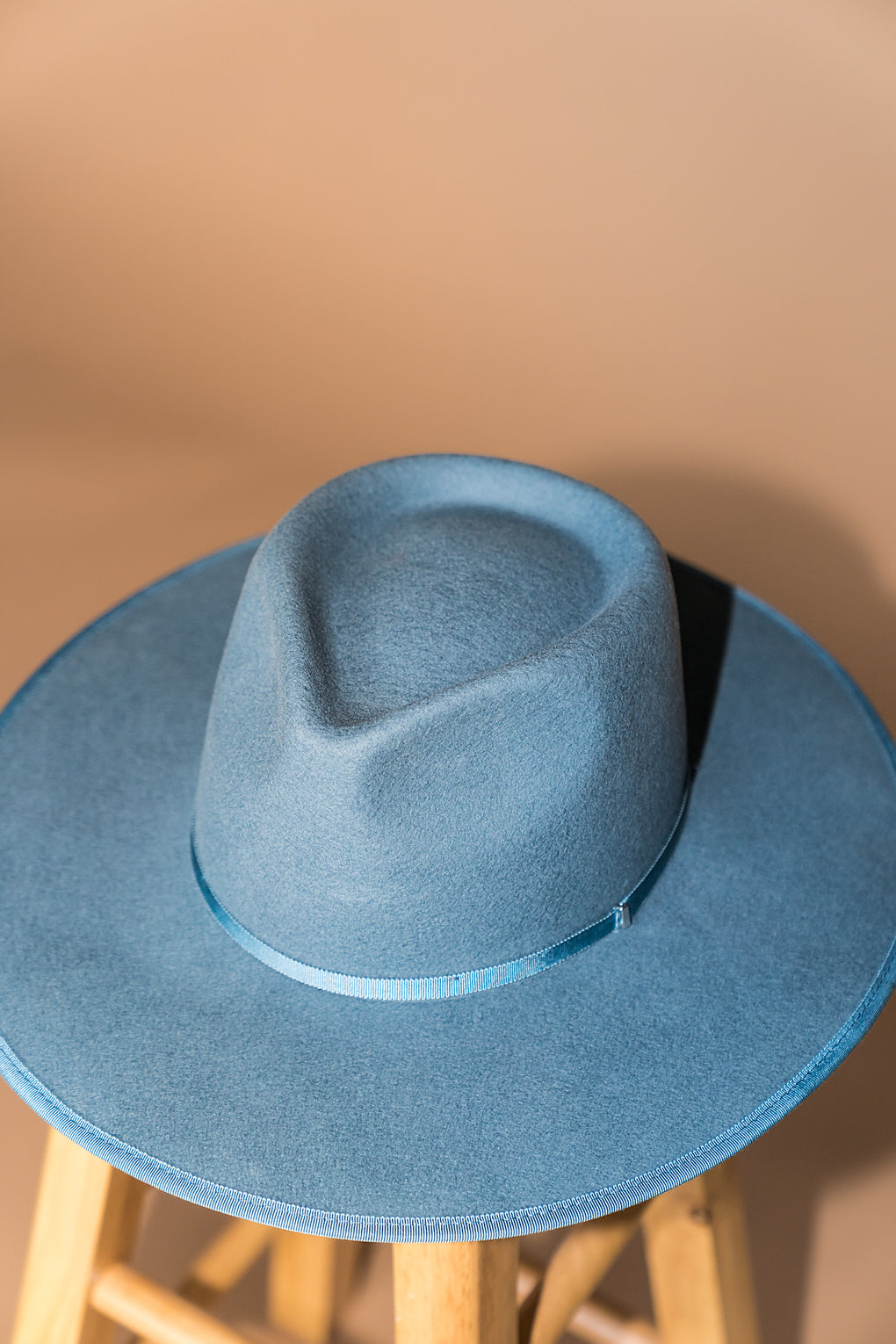 Billie Rancher Hat in Sky Blue