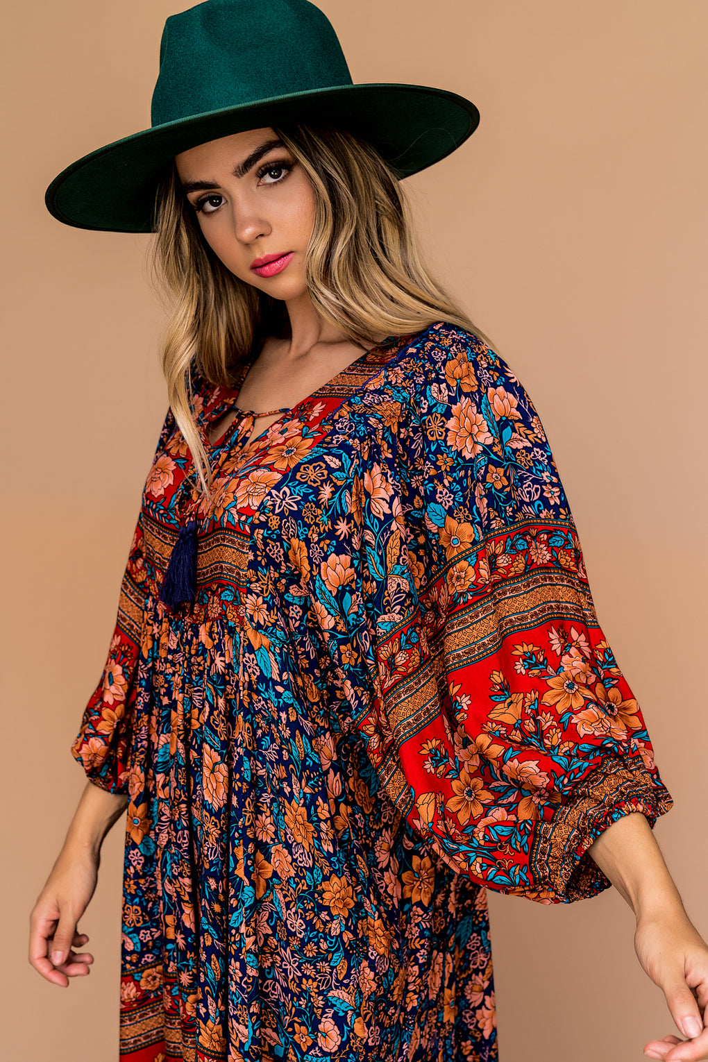 California Dreaming Boho Swing Dress