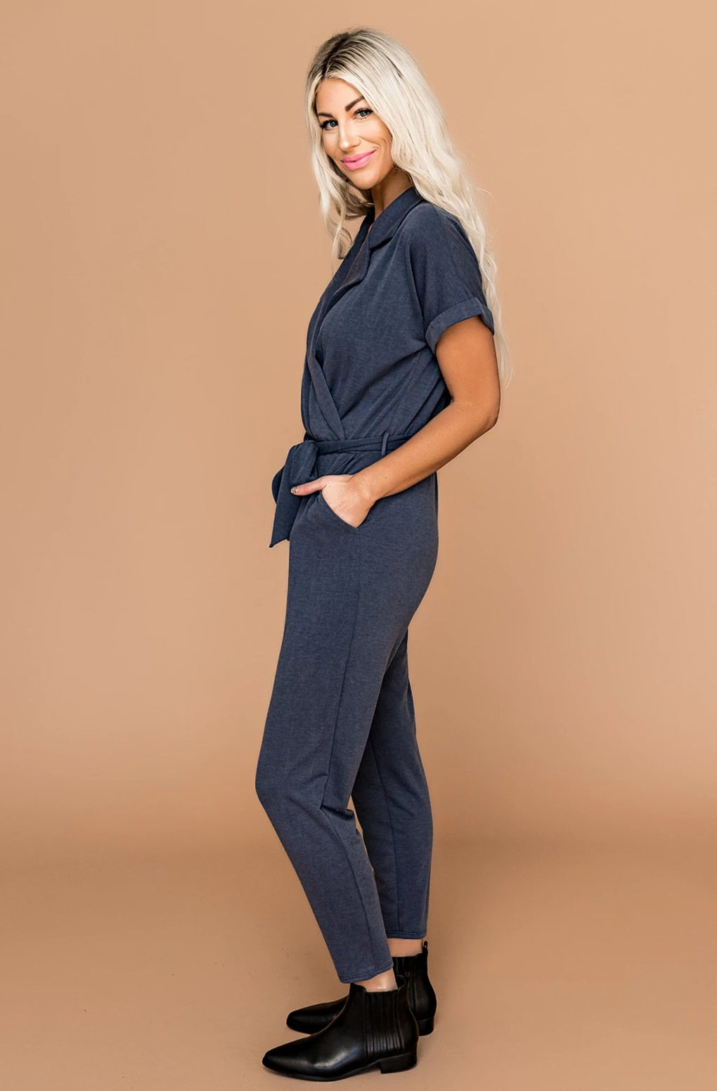 Sweet Talker Indigo Jumpsuit