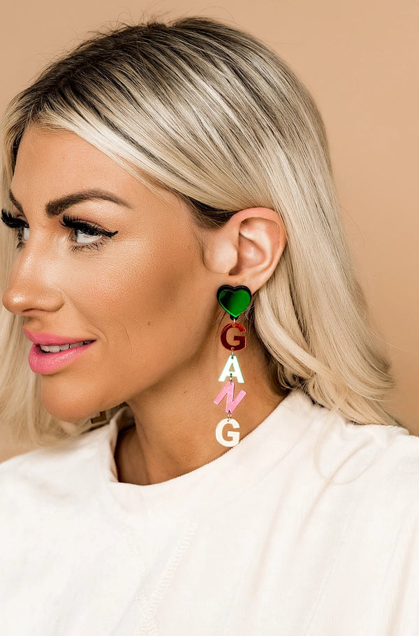 Love My Girl Gang Earrings