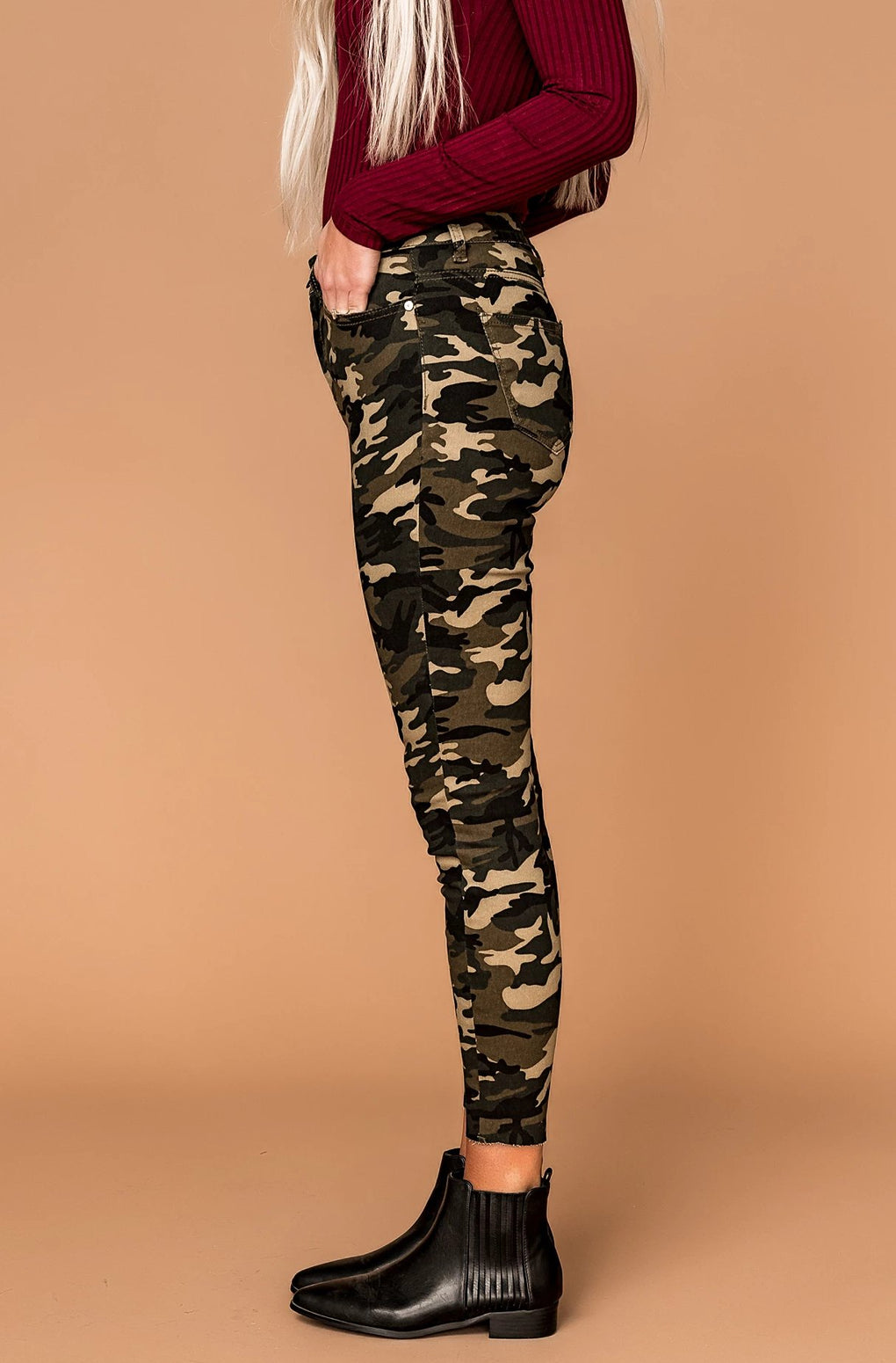 Can't Touch This Camo Skinnies