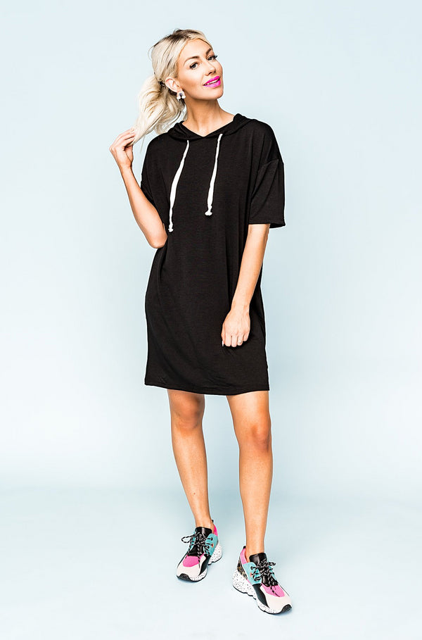 Good Karma Hoodie Dress