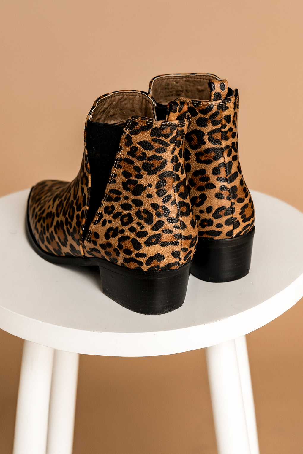 Stevie Leopard Booties