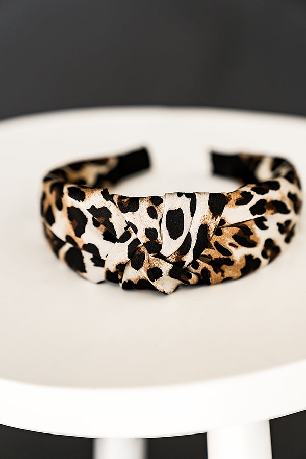 East Coast Leopard Headband