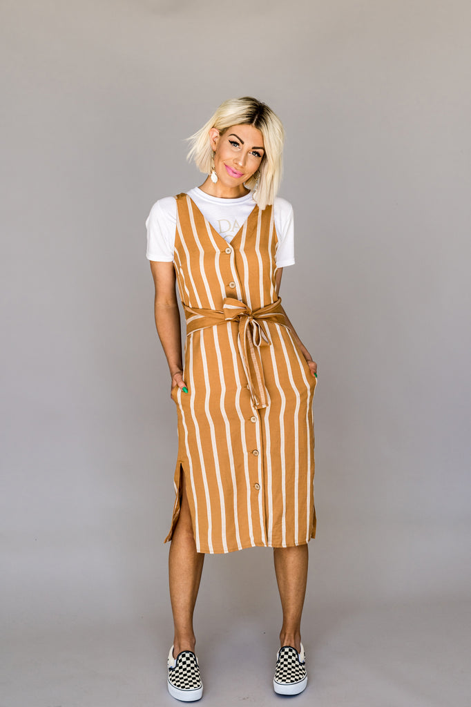 Remi Striped Dress