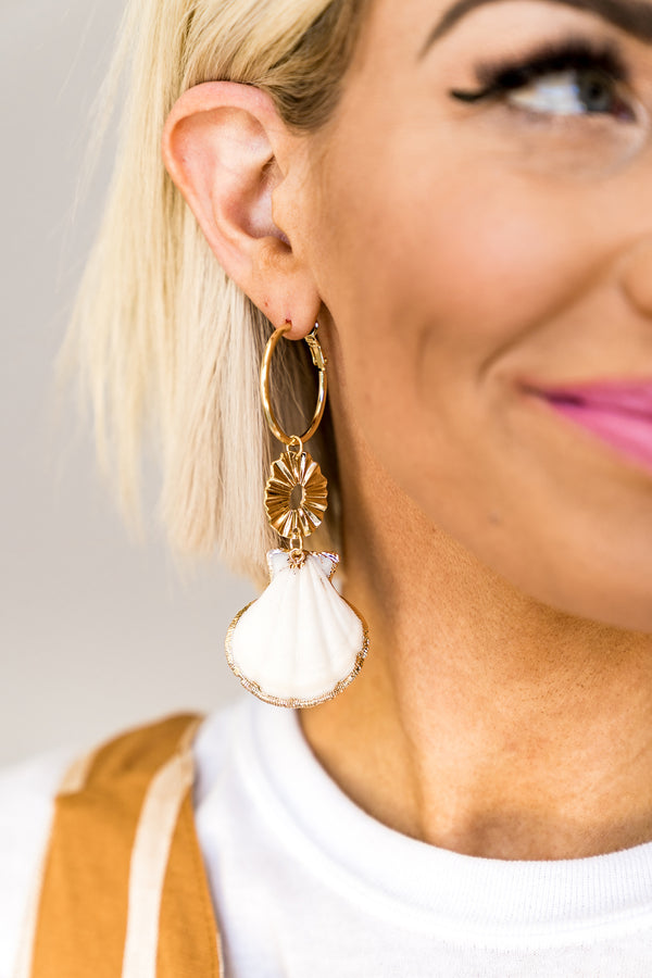 Beach Baby Drop Earrings
