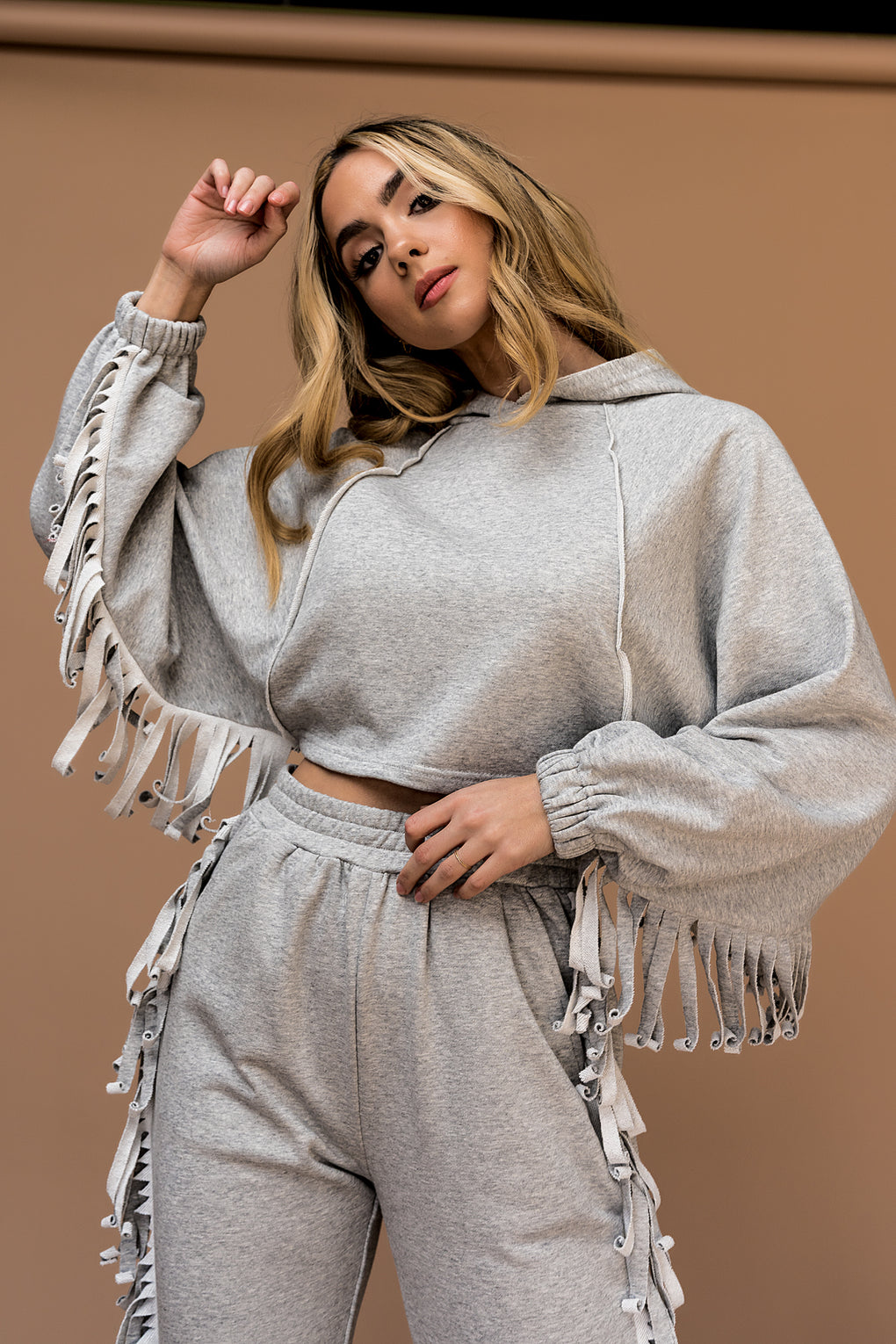 Live A Little Fringe Matching Set