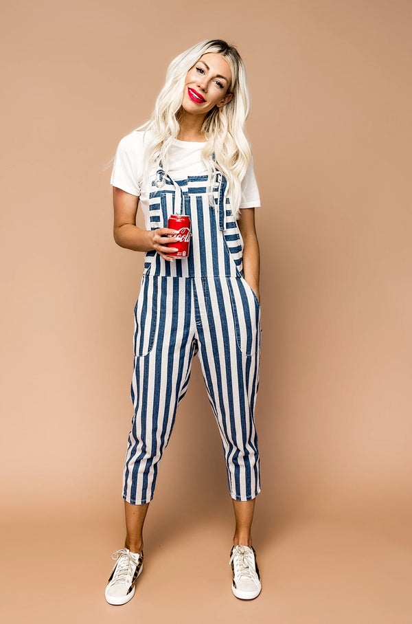 City Vibes Denim Overalls
