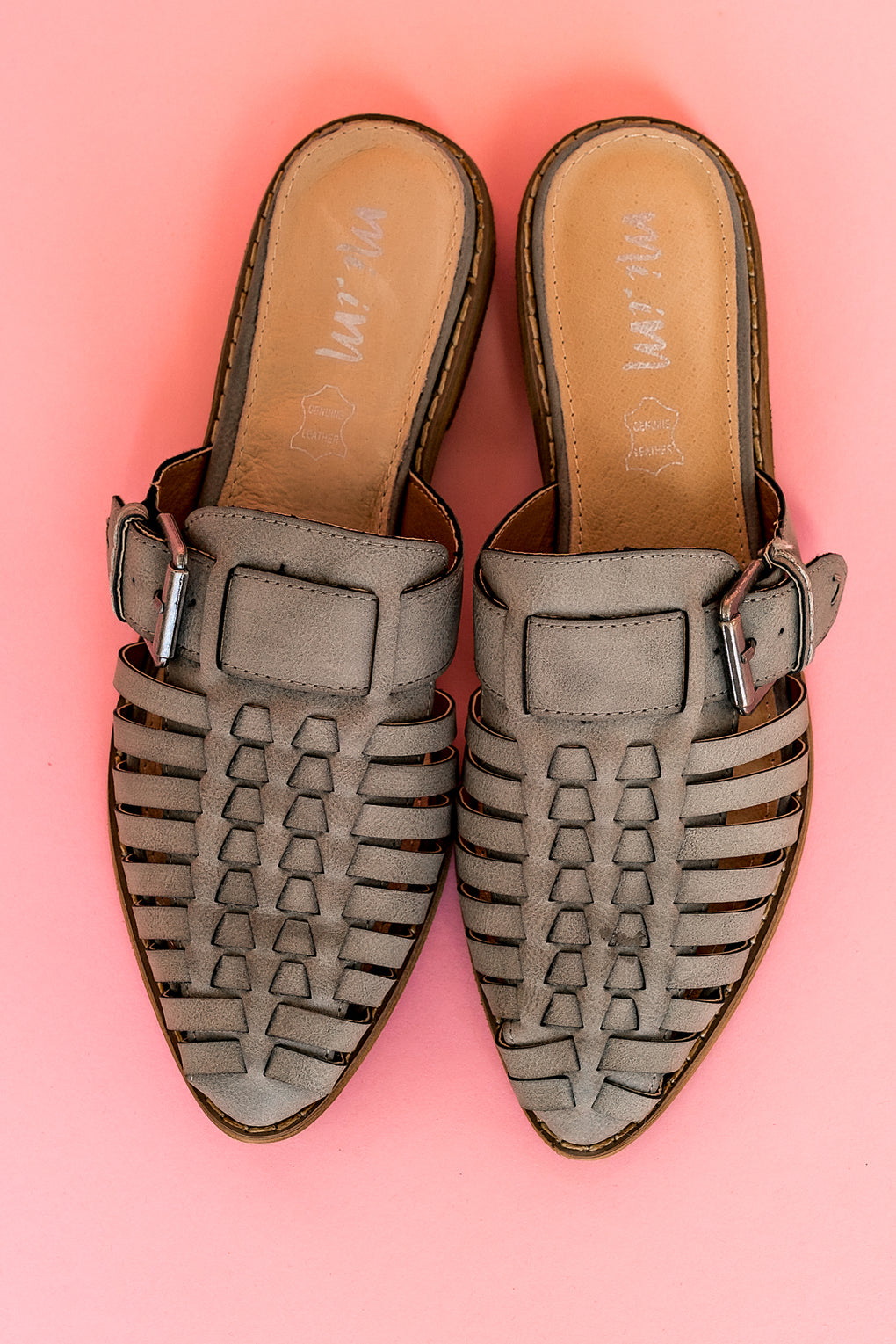 Coast To Coast Leather Mules