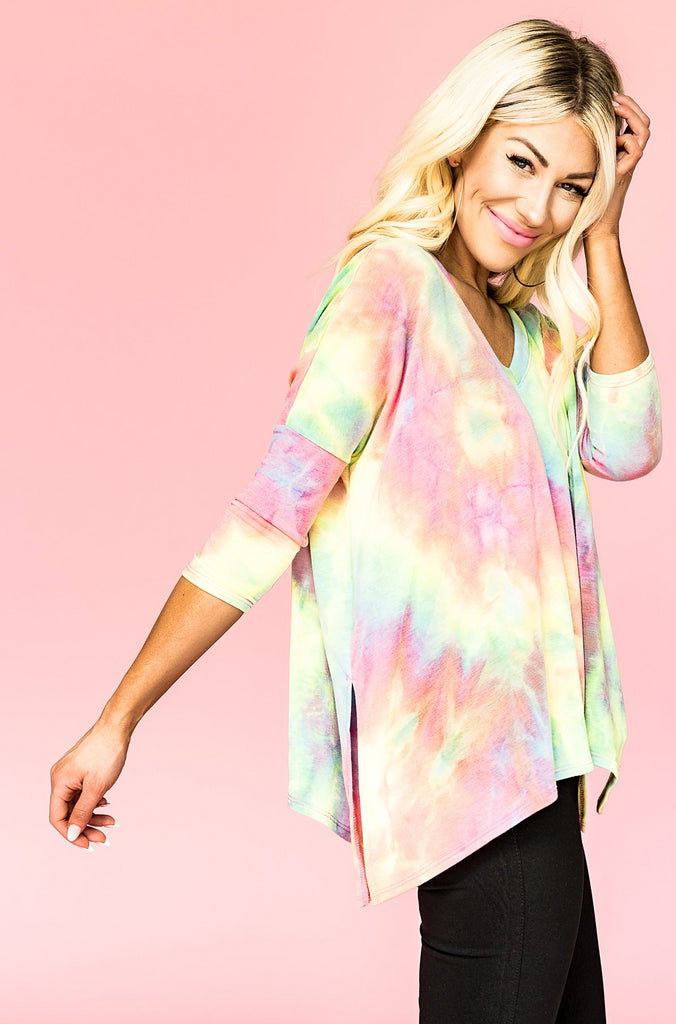 Candy Candy Tie Dye Pullover