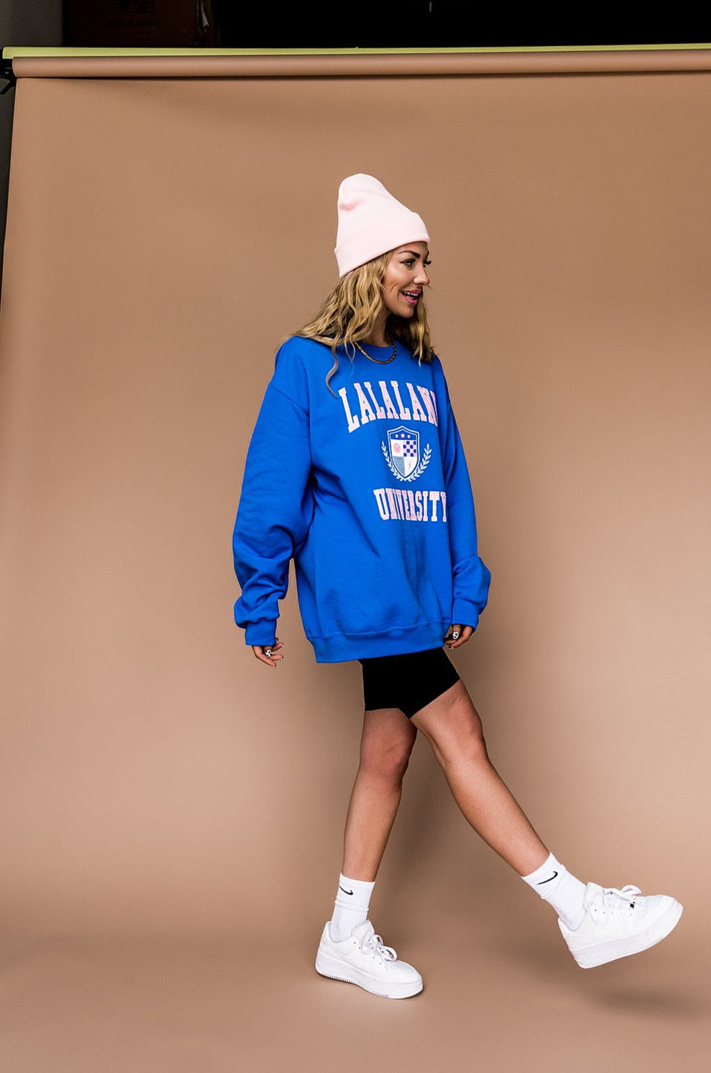 LALA ORIGINAL DESIGN: Lalaland University Pullover