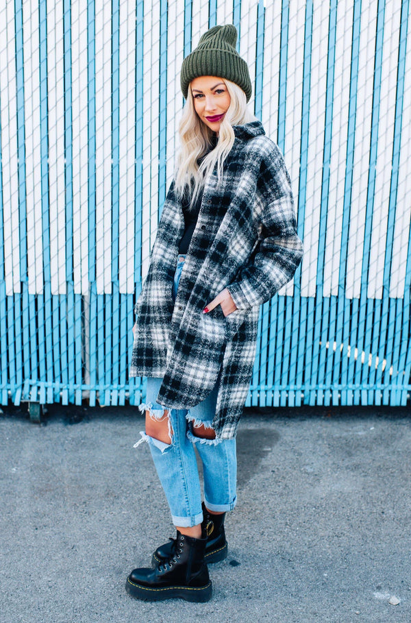 Leo Oversized Wool Coat
