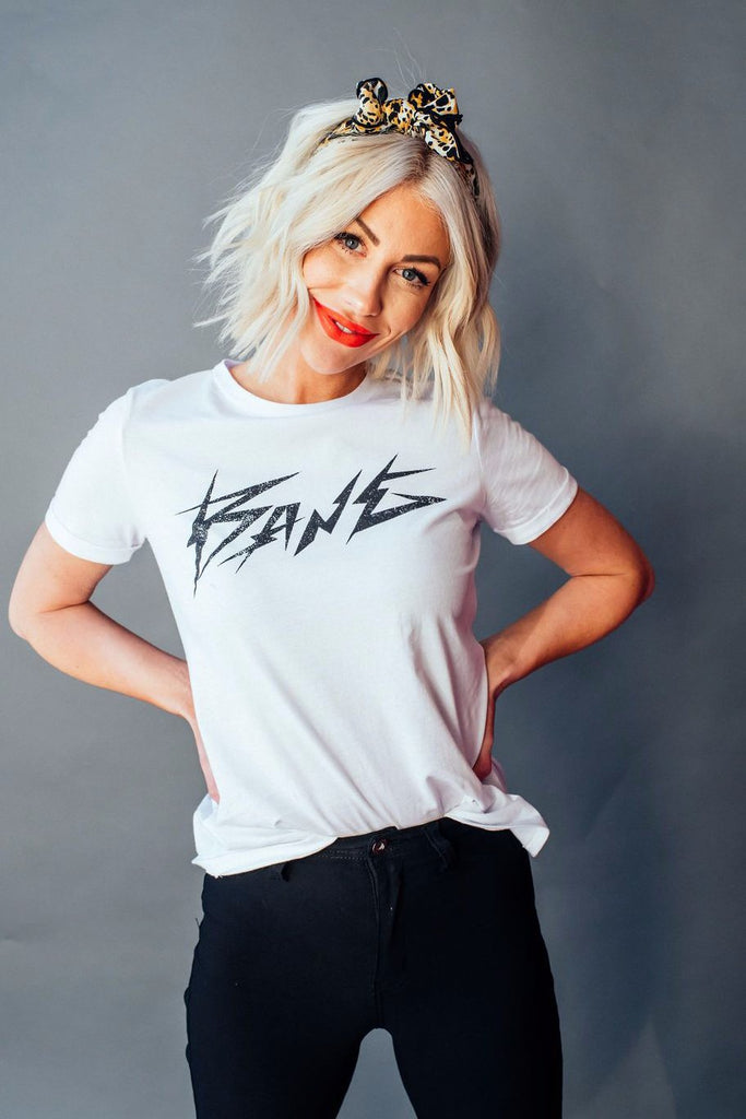 Bang Electric Tee in White
