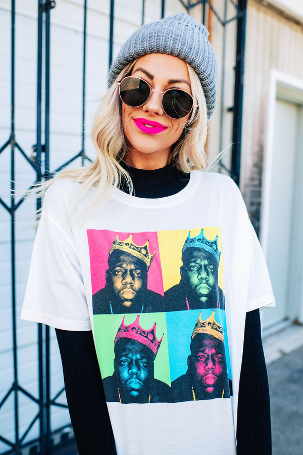 Biggie Smalls Tee: Daydreamer LA Brand