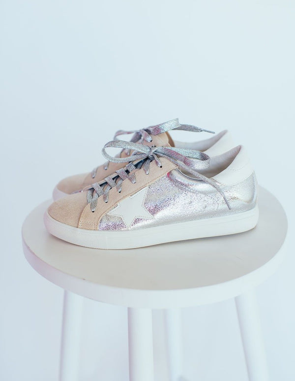 Golden Girl Sliver Sneakers