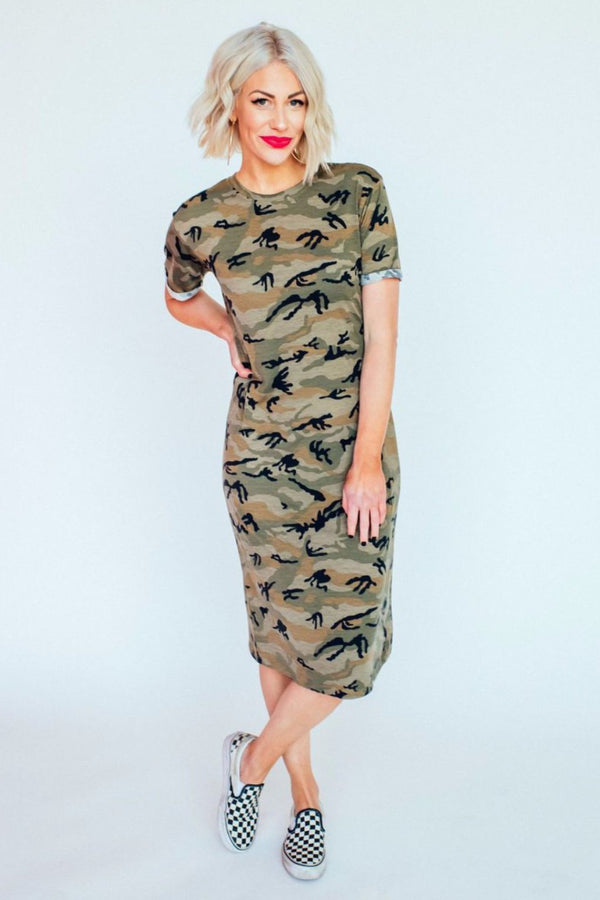 Cool Girl Camo Dress