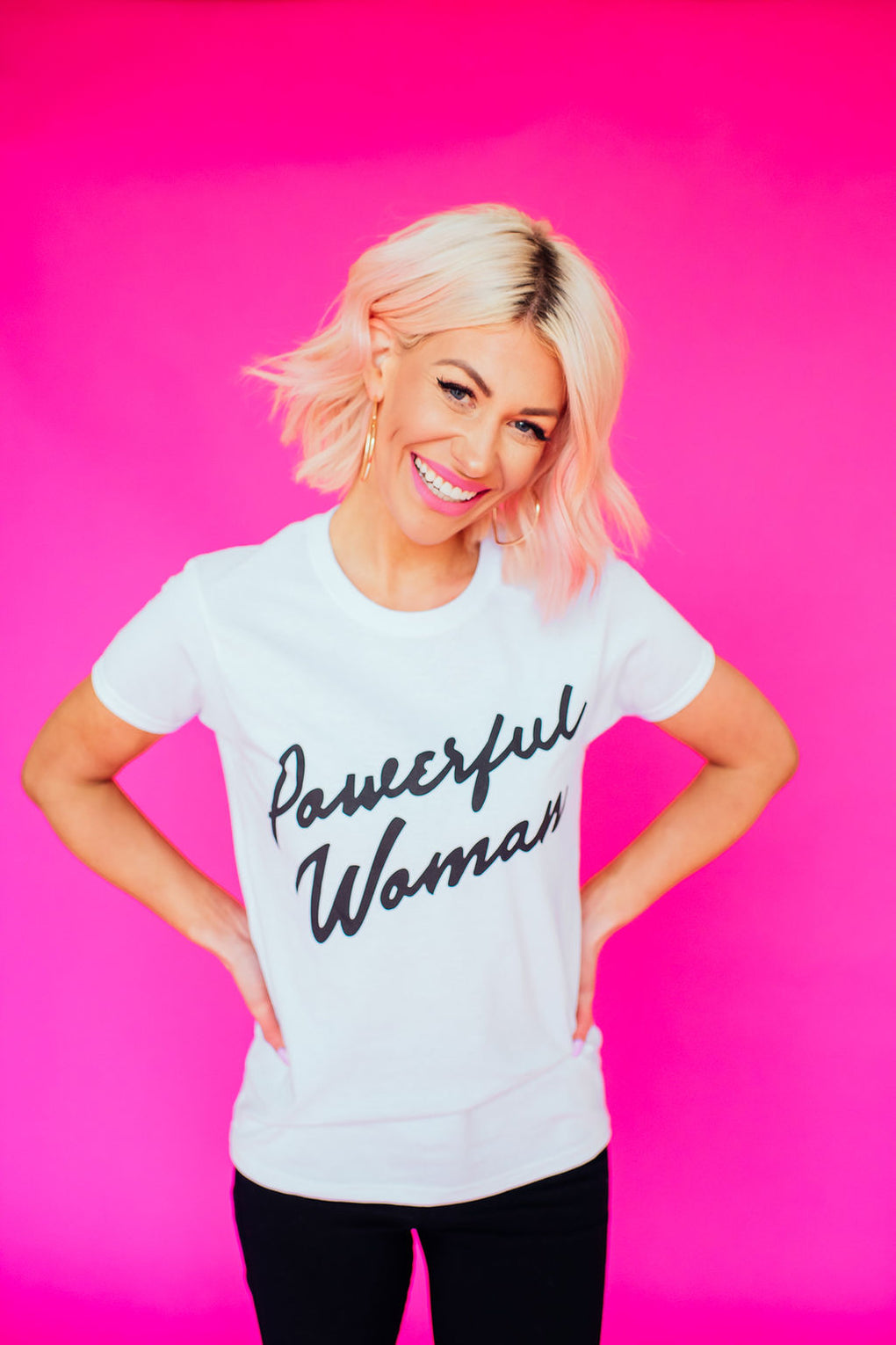 POWERFUL WOMAN EXCLUSIVE LALA TEE
