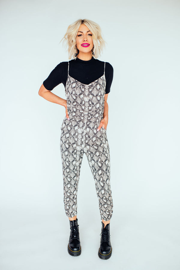 Sass Queen Snake Jumpsuit
