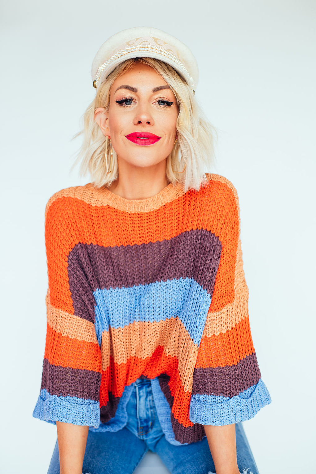 West Coast Sunrise Knit
