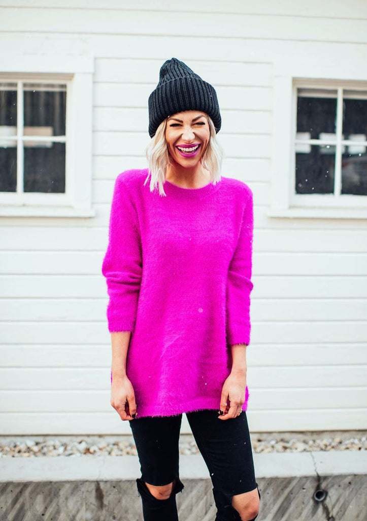 Magic Magenta Sweater