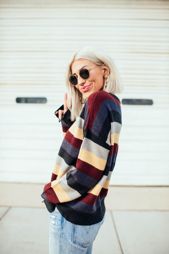 Northwest Striped Sweater