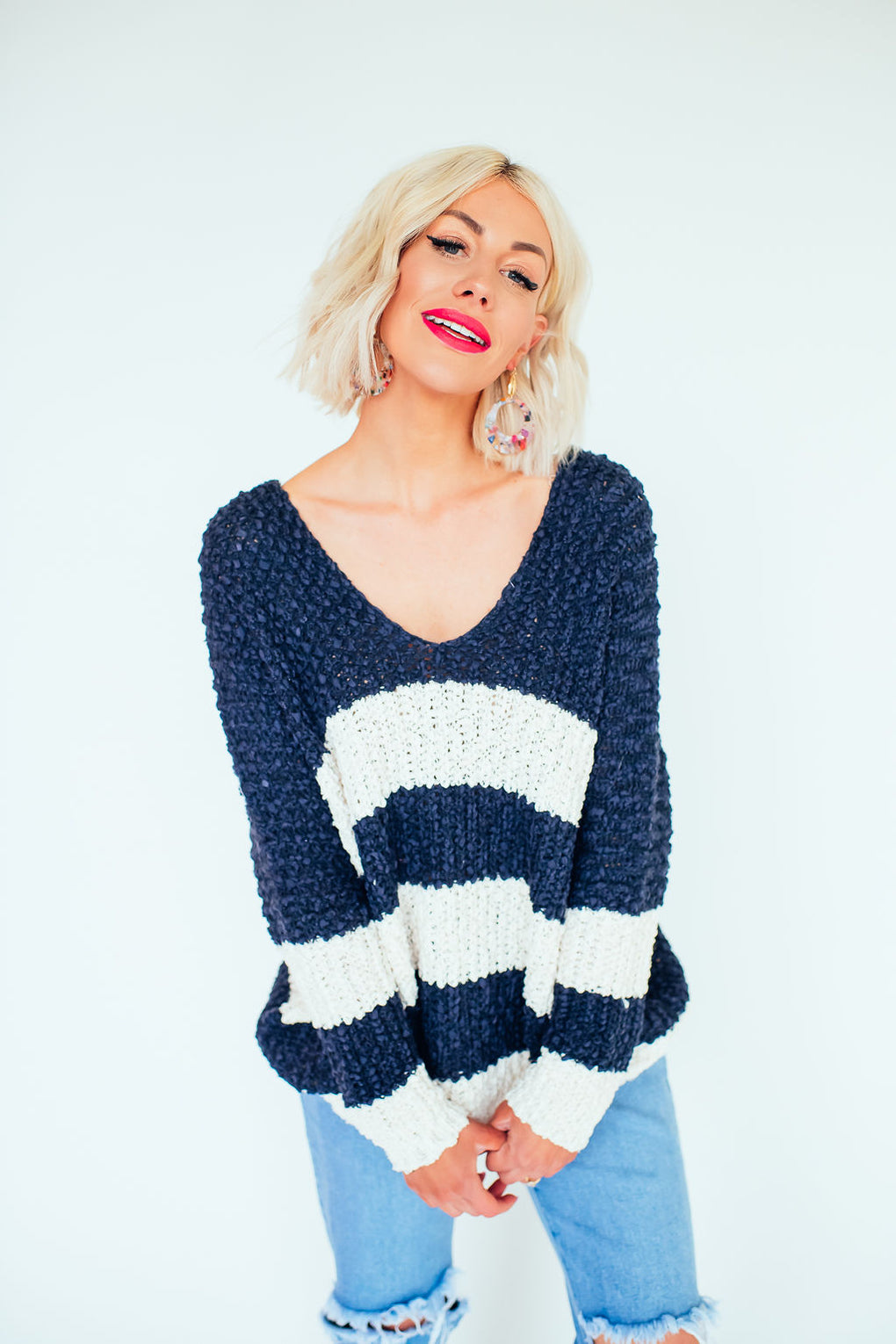 East Coast Baby Striped Sweater