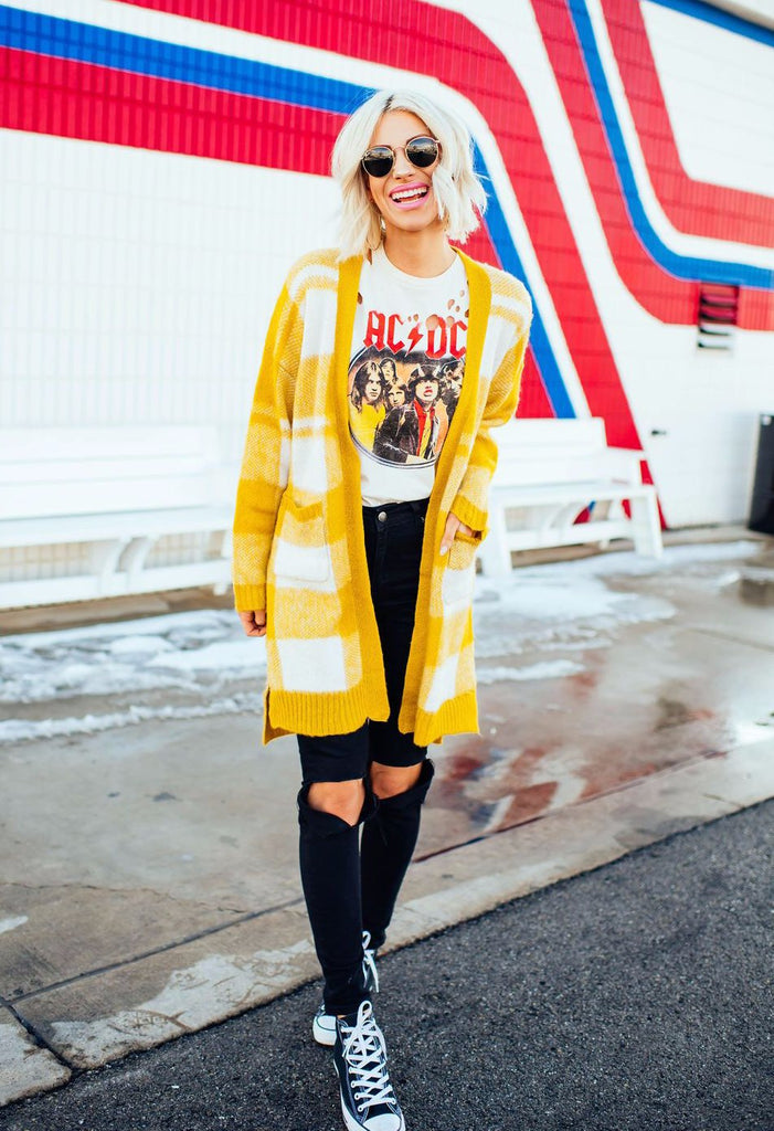 Mellow Yellow Cardigan