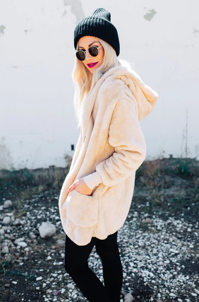 Cozy Teddy Cardigan