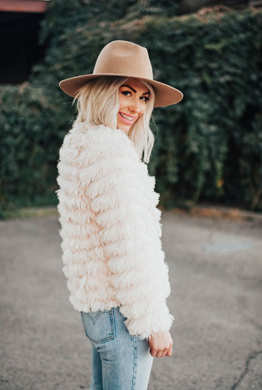 Mercury Faux Fur Jacket