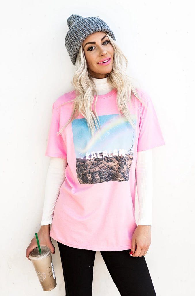 LALA EXCLUSIVE: Living in LALA Land Tee