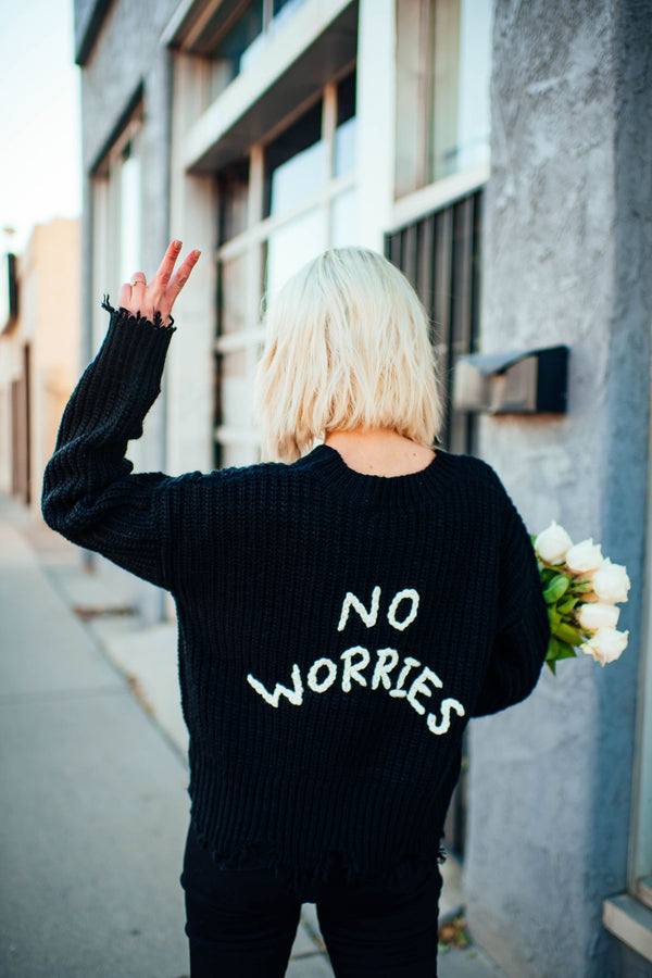 No Worries Knit Sweater