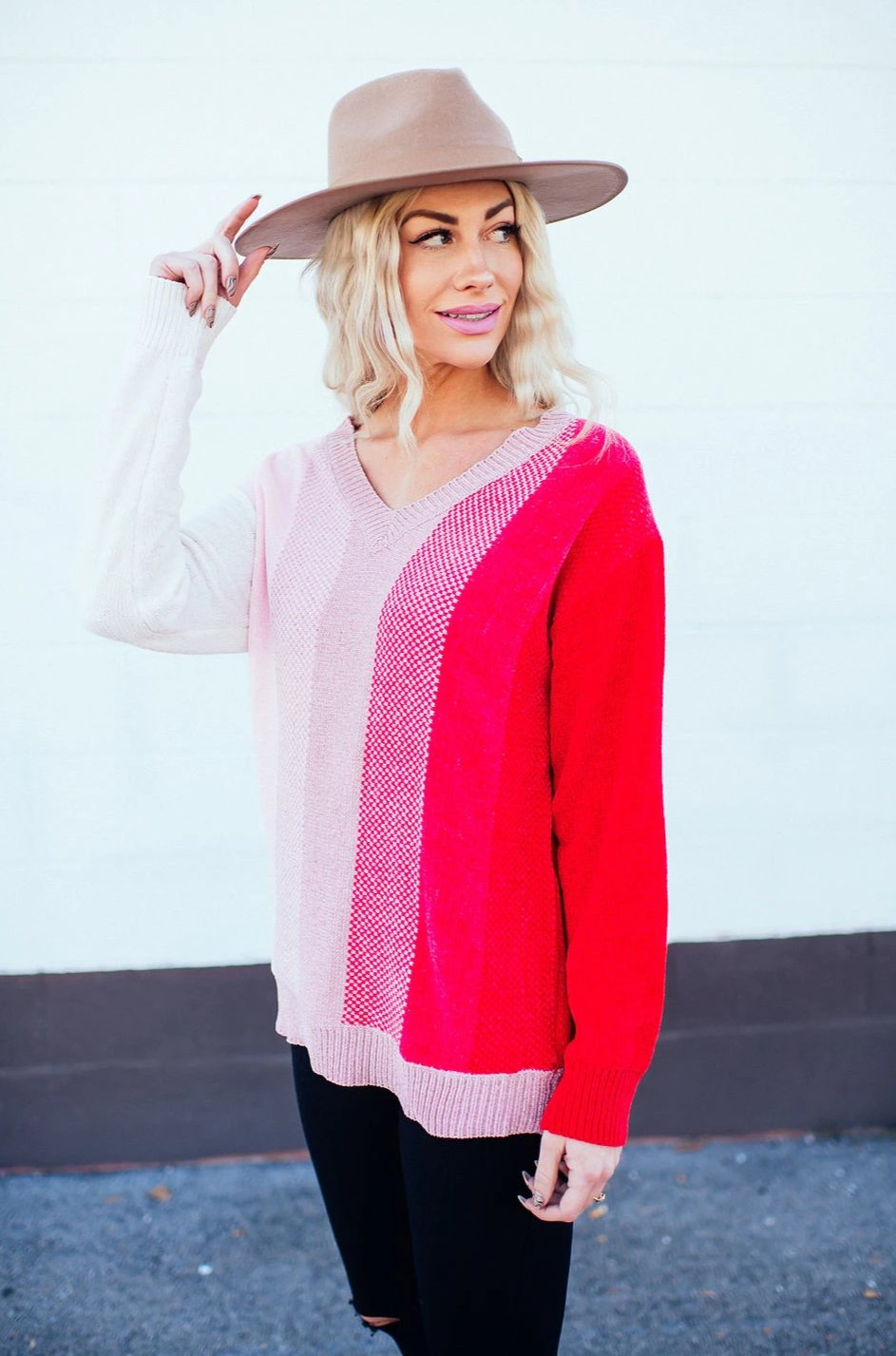 Forever Mine Striped Chenille Sweater